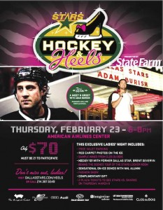 Hockey & Heels Flyer