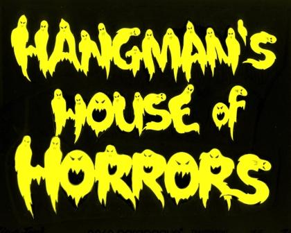 Hangman's House of Horrors logo
