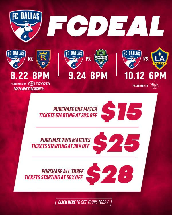 FC Dallas deals