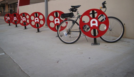 Alamo Drafthouse Cinema - Richardson - Bike Parking by DickDavid