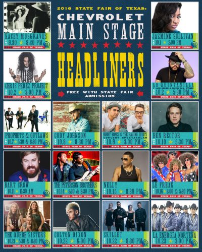 state fair concerts